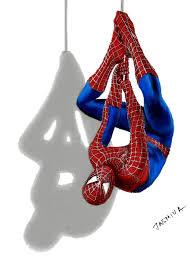 draw 3d spider man