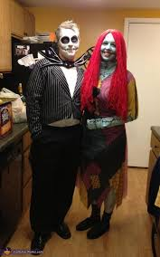 Sally Halloween Costumes Jack Skellington Sally Couples Costume Jack Skellington