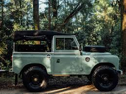 land rover vintage featured vehicle 1982 land rover series iii with adventure