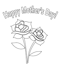 coloring pages mothers day flowers flower for mother s day coloring page things i love pinterest
