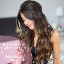 hairstyles for 6 romantic hairstyles for valentine s day luxy hair