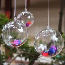 superb clear plastic christmas ball ornaments fantastic wedding
