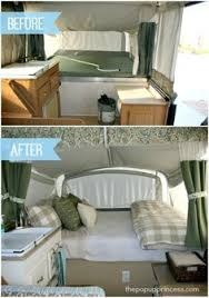 Pop Up Camper Curtains Coleman Pin By Laura Mosier On Pop Up Redo And Camper Remodels Pinterest