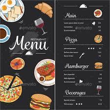 45 restaurant menu design template collections for free u0026 premium