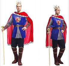 Male Costumes Halloween Halloween Costume Christmas Men Costumes Carnival King