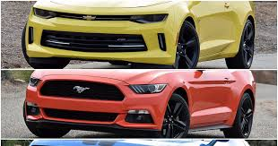 mustang or camaro dna 3 way camaro vs mustang vs challenger ny daily