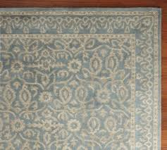 Pottery Barn Area Rugs Living Room Rug Blue Tile Rug Porcelain Blue Pottery