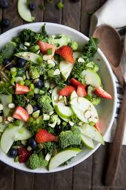 Garden Salad Ideas Summer Detox Salad With Citrus Basil Vinaigrette Easy Healthy