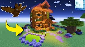 minecraft tutorial how to make a haunted house