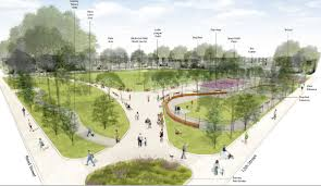 Park Design Ideas Funding Secured For Columbus Square Redesign Construction To