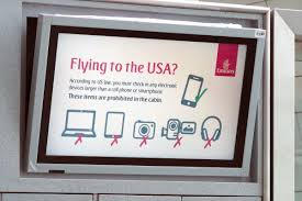 what it was like flying emirates during the electronics ban