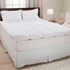superior mattress topper down alternative white hayneedle