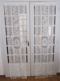 Curtains For Interior French Doors Lace Curtains For French Doors 982
