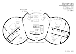 bedroom plans floor plans 3 bedrooms monolithic dome institute