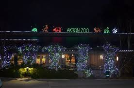 house of lights cleveland akron zoo to kick off holiday themed wild lights event series nov