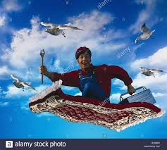 Craftsman Carpet Composing Cloudy Sky Craftsman Happy Smile Fly