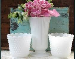 Milk Vases For Centerpieces by Milk Glass For Weddings And Life U0027s Special By Shiftingyears