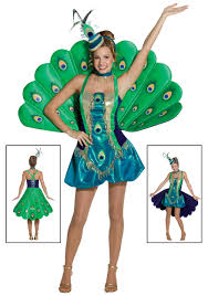 high quality halloween costumes for adults womens peacock costume