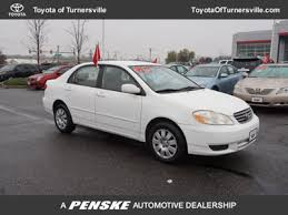 2003 toyota corolla mpg automatic used toyota at turnersville automall serving south jersey nj