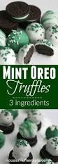 mint oreo truffles st patrick u0027s day treats hoosier homemade