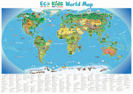 Southern Ocean Map Products Eco Kids Planet