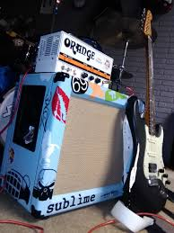 Custom 1x12 Guitar Cabinet Son Set Beach Music