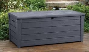 keter deck box outdoor furniture