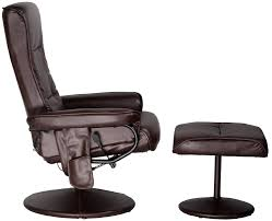 Recliner Massage Chairs Leather Amazon Com Relaxzen 60 425111 Leisure Recliner Chair With 8 Motor