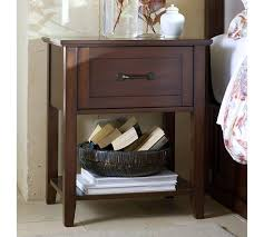 pottery barn bedside table stratton nightstand pottery barn