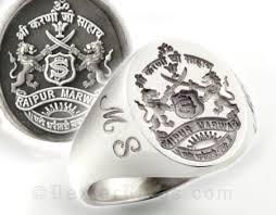 family rings for bespoke signet ring shop