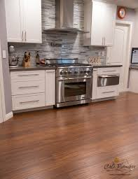 Tiled Kitchen Floors Ideas Kitchen Flooring Idea Antique Java Bamboo Flooring By Cali Bamboo