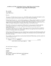 Sample Of Invitation Letter For Business Meeting by Business Meeting Invitation Letter Resume Templates