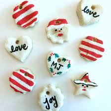 salt dough ornaments finding silver linings