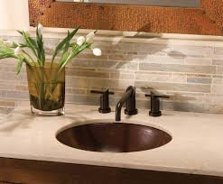 sink bathroom decorating ideas bathroom oval undermount bathroom sink in copper for bathroom