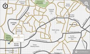 map usj 23 usj 23 soho for sale at one city my classmates condominium 2