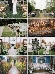 beautiful and unique ways to decorate your wedding aisle rock my