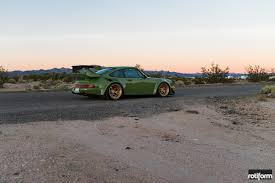 rotiform porsche 964 porsche 964 u2013 this is a green car u2013 automotive tuner