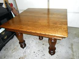 1920 s walnut dining room table indiepretty