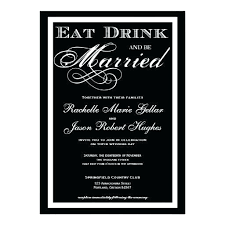 eat drink and be married invitations lovely eat drink and be married wedding invitations or eat drink