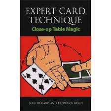 expert at the card table pdf expert card technique close up table magic the magic warehouse