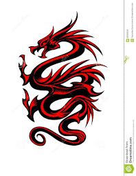 tribal chinese dragon tattoos 10 colored tribal dragon tattoo