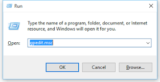 disable windows 10 updates using group policies