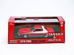 Ford Gran Torino Starsky And Hutch Amazon Com Greenlight Collectibles 1976 Ford Gran Torino Die Cast