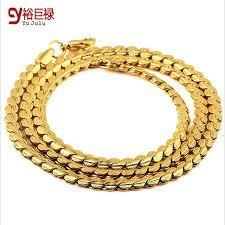 golden necklace men images Hiphop gold chains for men lace short chain fashion necklace jpg