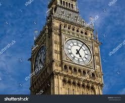London Clock Tower by Big Ben Clock Tower London Uk Stock Photo 104624276 Shutterstock