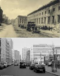 volkswagen germany headquarters berlin pictures show the red army rampaging through german capital