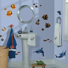 24 new tropical fish wall decals dolphins stickers beach home