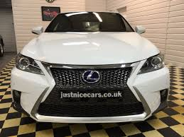lexus sport uk second hand lexus ct 200h 1 8 f sport 5dr hybrid cvt auto for sale