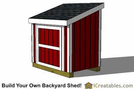 How To Build A Storage Shed Ramp by Lean To Shed Plans Easy To Build Diy Shed Designs