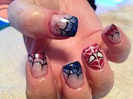 spider man nails my work pinterest spider man nail nail and